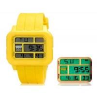 SHORS SH-779 30 м водонепроницаемый LED Watch (желтый)
