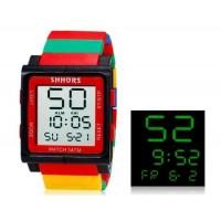 SHORS SH-768  Водонепроницаемые часы (красный)