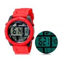 SHORS SH-781 Водонепроницаемые часы с отображением даты (красный