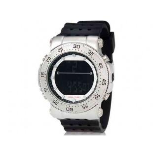 SHORS 80076  часы с силиконовым ремешком (черный)