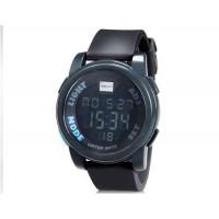 SHORS 801  светодиодные электронные часы с силиконовым ремешком (серый)