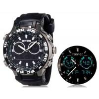 SHORS 80071 Аналоговые часы (черные)