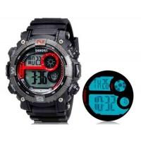 SHORS 805 Unisex светодиодные цифровые дисплей часы (черные)