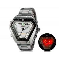 WEIDE 1102 Аналоговый и Цифровой циферблат 30 м Водонепроницаемые светодиодные спортивные часы
