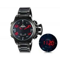 WIDE 1008 Аналоговый и Цифровой дисплей  30 м Водонепроницаемые светодиодные спортивные часы с браслетом