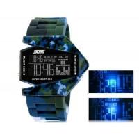 SKMEI 0817 30M водонепроницаемые светодиодные электронные часы  часы с календарем