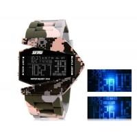 SKMEI 0817  30M водонепроницаемые светодиодные электронные часы Спортивные часы с календарем  функции