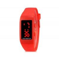 Купить ZX1405 Стильные для студентов светодиодные электронные часы (красный)