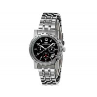 Купить Luckyfamily G7020 унисекс автоматические механические часы с нержавеющей стали ремешок (черный)