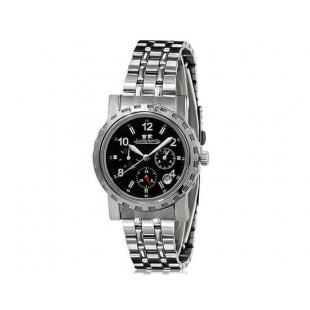 Luckyfamily G7020 унисекс автоматические механические часы с нержавеющей стали ремешок (черный)
