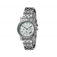 Luckyfamily G7020 автоматические механические часы с стальным браслетом(белый)