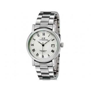 Luckyfamily G8009 автоматические механические часы  и календарь (белый)