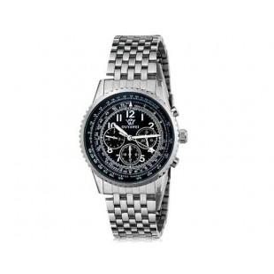 OUYAWEI Водонепроницаемые Автоматические механические часы (черный)