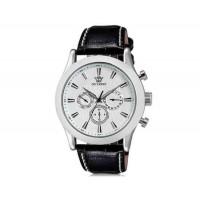Купить OUYAWEI  Водонепроницаемые Автоматические Механические часы - кожаный ремешок (белый)