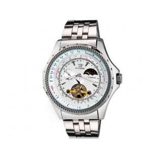 OUYAWEI Водонепроницаемые Автоматические Механические часы (белый)