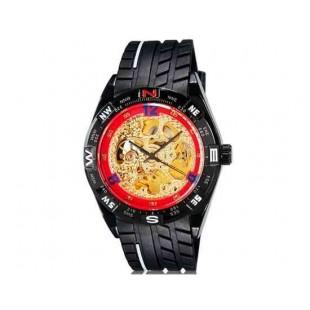 OUYAWEI 1212 автоматические механические часы (красный)