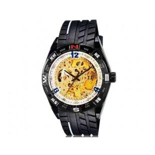 OUYAWEI 1212 автоматические механические часы  (белый)
