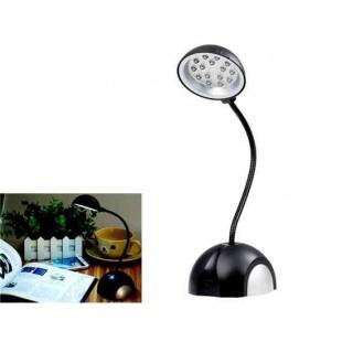HK-L3020 на  батарейках  и USB LED Настольная лампа (черный)