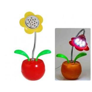 Работающий от батареи USB Flower светодиодные