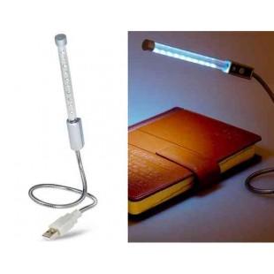 Регулируемая мини USB лампа 10-диодов