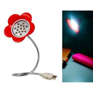 USB лампа 15-LED Light (красный)