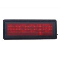 Красный светодиодный дисплей Информационное табло (черный)