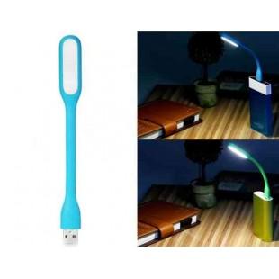 Портативный USB LED лампа для Power Bank & Comupter (синий)