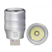 Светодиодна лампа  для  повербанка алюминиевая