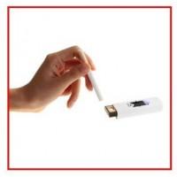 Купить USB Электронная Перезаряжающаяся Беспламенная Зажигалка Для Сигарет Сигар 02