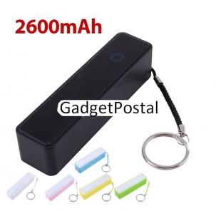 Портативное внешнее зарядное устройство 2600 mAh USB для подзарядки  мобильных телефонов