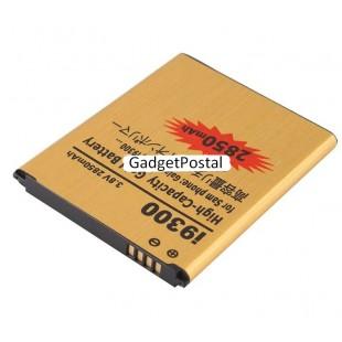 2850mAh Gold Li-ion 3.8V перезаряжаемая аккумуляторная батарея для  Samsung S3 I9300