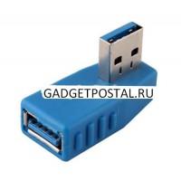 Угловой USB 3.0 адаптер Папа - Мама