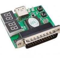 4 битный тестер для ноутбука LPT USB