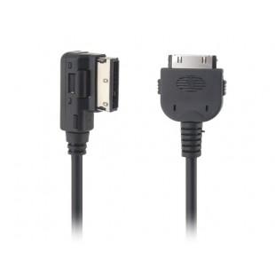 Volkswagen (MDI-BOX) / Audi (AMI) в iPhone / чайник Мультимедиа Digital Audio AMI короткий кабель (черный)