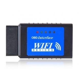 WI-FI OBD2 автомобиля диагностический инструмент (синий)