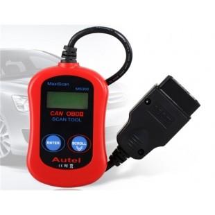 Autel MaxiScan MS300 CAN OBD-II автомобиля детектор неисправности (красный)