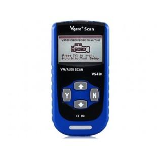 VS450 Code Reader OBDII Scan Tool для VW / Audi Автомобили (синий)