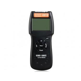 D900 OBDII автомобилей Сканер диагностический инструмент 2012 Версия (черный)