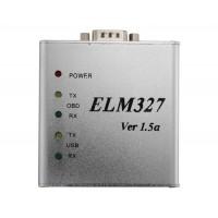 ELM327 v1.5 USB алюминиевый корпус USB OBD2