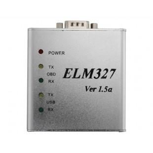 ELM327 в алюминиевом корпусе USB OBD2 v1.5 диагностический сканер