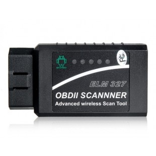 Мини Bluetooth ELM327 OBD2 сканер (черный)
