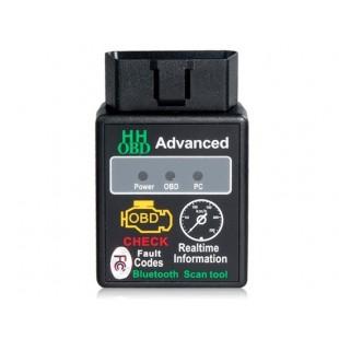 HH Мини ELM327 Bluetooth OBD2 V1.5 Scan Tool (черный)