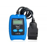 VC210 VAG + CAN VW / AUDI OBD2 Scan Code Reader (синий)