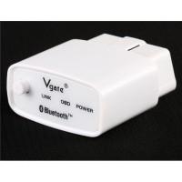Vgate Bluetooth ELM327 Mini OBD2 автомобиля диагностический сканер (белый)