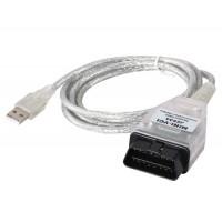 Авто Диагностический кабель для TOYOTA TIS TOYOTA VCI (серебро)