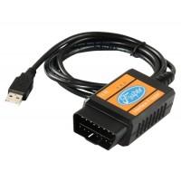 Сканер Кабель USB Сканирование Инструмент для Форда (черный)