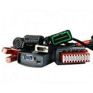 PP2000 V21 Лексис-3 Citroen / Peugeot Диагностический прибор с кабелем выдвижения OBD2 (черный)