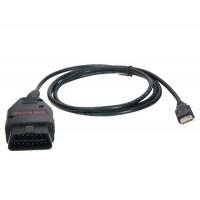 VAG-K + CAN Commander V1.4 Полный Автомобильный диагностический кабель для VW & Audi (черный)