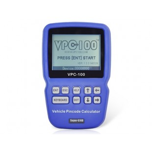 VPC-100 Ручной Автомобильный PinCode Калькулятор (С 200   300 жетонов) (синий)