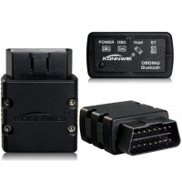 KONNWEI KW902 BT / Wi-Fi OBD-II сканер Детектор автоматический диагностический инструмент (черный)